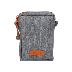 KUTS BODYBAG ZIP GRIS CHINE