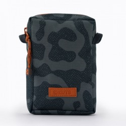 KUTS BODYBAG ZIP CAMO BLACK