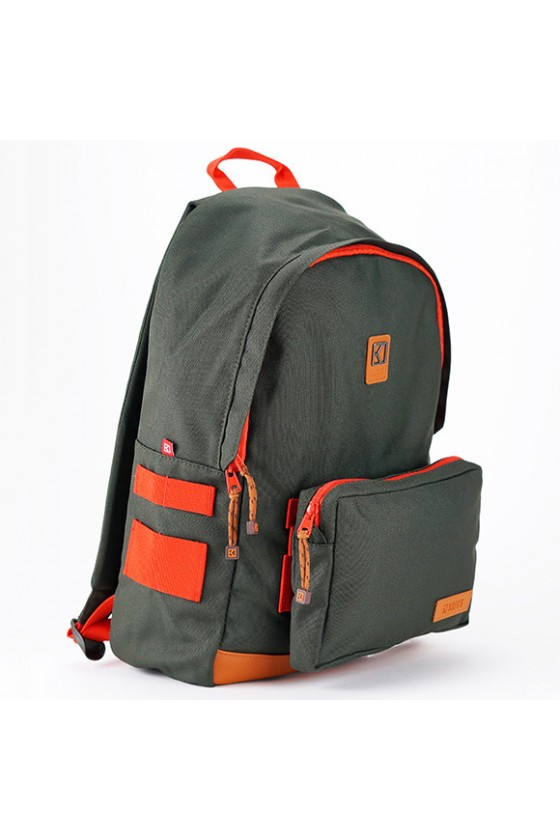 KUTS OLLIE OLIVE-ORANGE